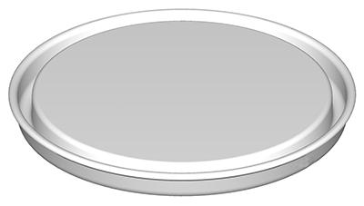 Bouchon pression tripletite pour boite métallique