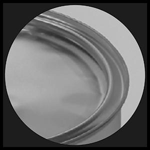 Membrane, opercule pour boite métallique